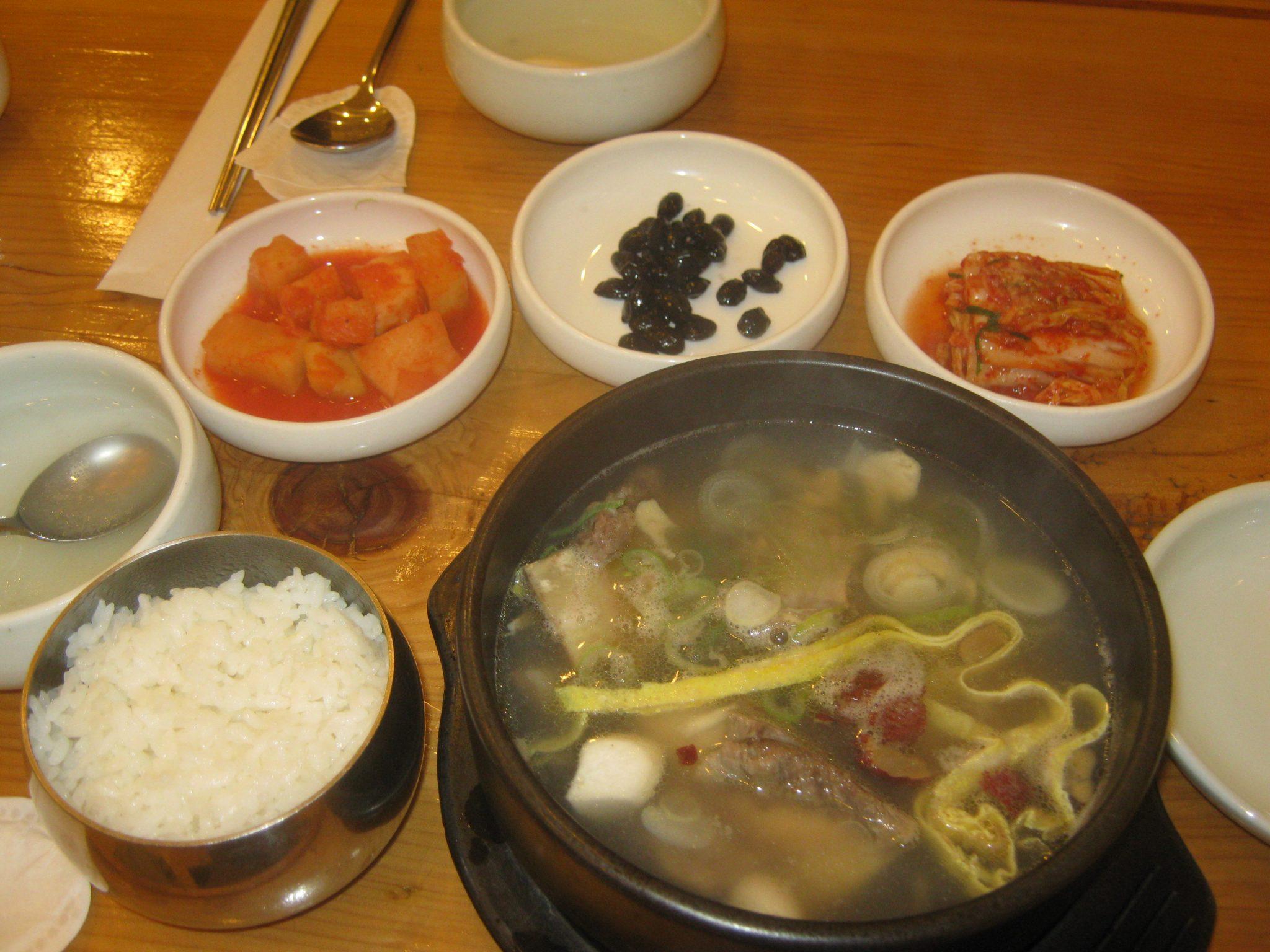 Gastronomie cor enne for Cuisine coreenne