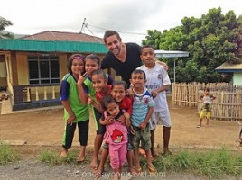 Franck à Flores en Indonésie2