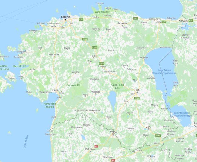 Pays baltes estonie